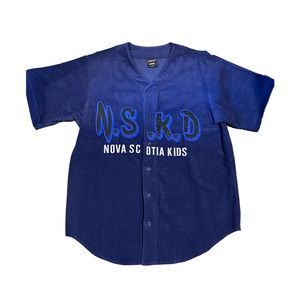 NSKD Nova Scotia Kids Corduroy Baseball Jersey